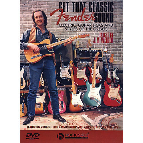Homespun Get That Classic Fender Sound DVD