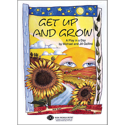 Shawnee Press Get Up And Grow (Book/CD)