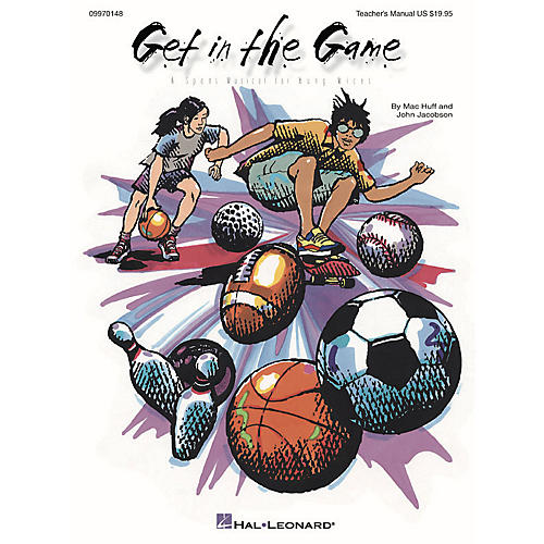 Hal Leonard Get in the Game (Musical) ShowTrax CD Composed by John Jacobson-thumbnail