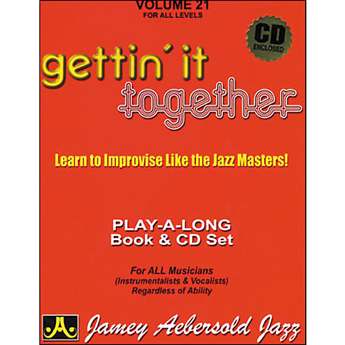 Jamey Aebersold Gettin' It Together Volume 21 Book and CD-thumbnail