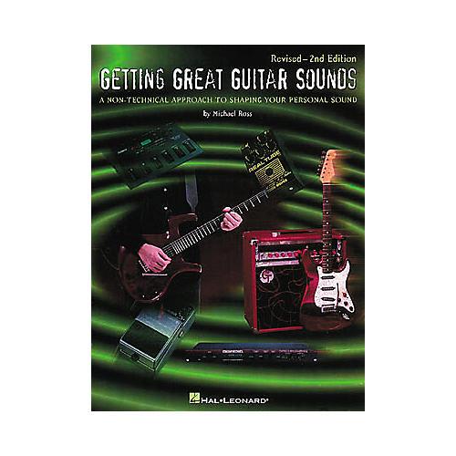 Hal Leonard Getting Great Guitar Sounds Book-thumbnail