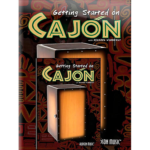 Hal Leonard Getting Started On Cajon (Book/DVD)