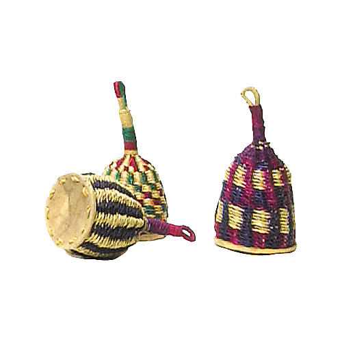 Overseas Connection Ghana Traditional Caxixi Rattle  7X3 Inches