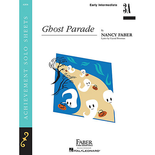 Faber Piano Adventures Ghost Parade Faber Piano Adventures® Series Book by Nancy Faber (Level Early Inter/Level 3A)-thumbnail
