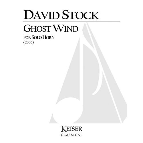 Lauren Keiser Music Publishing Ghost Wind (Horn Solo) LKM Music Series Composed by David Stock-thumbnail