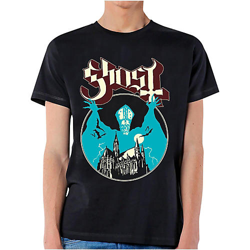 Ghost Ghost <em>Opus</em> T-Shirt Medium Black