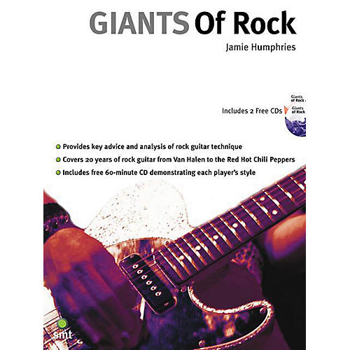 Music Sales Giants of Rock Music Sales America Series Softcover with CD Written by Jamie Humphries-thumbnail