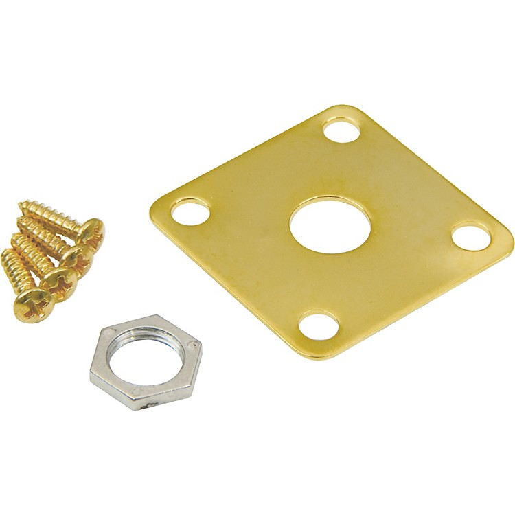DiMarzio Gibson Style Metal Jack Plate Gold