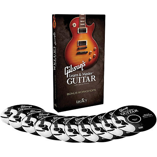 Hal Leonard Gibson's Learn & Master Guitar Bonus Workshops Legacy Of Learning Series-thumbnail