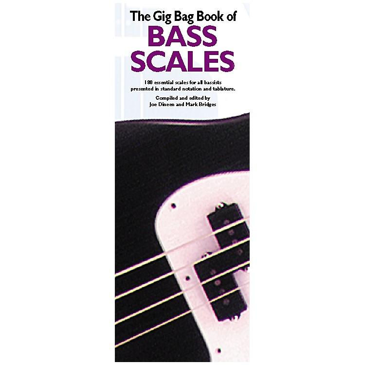 Music SalesGig Bag Book of Bass Scales