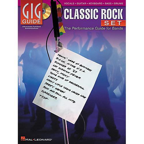 Hal Leonard Gig Guide Classic Rock Set (Book/CD)-thumbnail