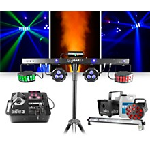 CHAUVET DJ GigBAR 2 with Geyser P6 Fog Machine Restock and JAM Pack Diamond Lighting Package