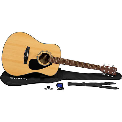 Yamaha GigMaker Acoustic Guitar Pack Natural