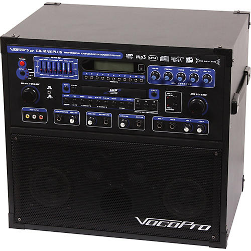 VocoPro GigMan Plus All In One Karaoke System