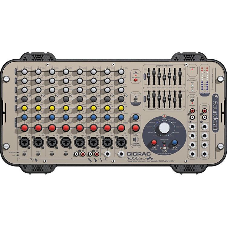 SoundcraftGigRac 1000st Powered Mixer