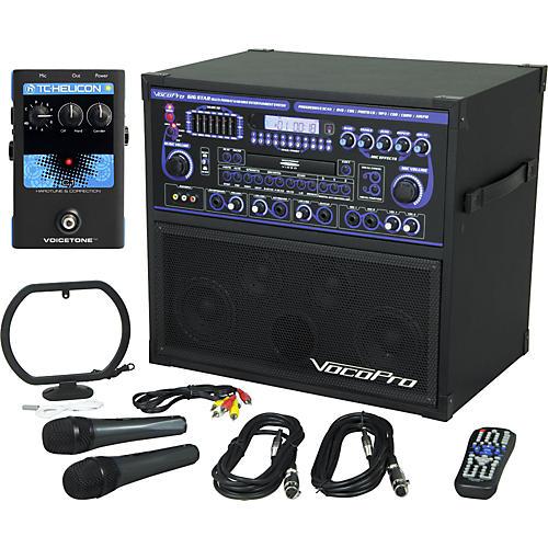 VocoPro Gigstar Karaoke System with VoiceTone C1 Pedal-thumbnail