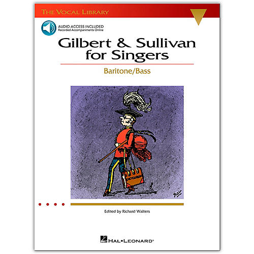 Hal Leonard Gilbert & Sullivan for Singers (The Vocal Library Series) for Baritone / Bass Book/CD