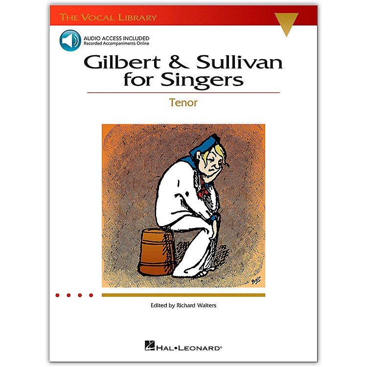 Hal Leonard Gilbert & Sullivan for Singers for Tenor Voice Book/CD (The Vocal Library Series)