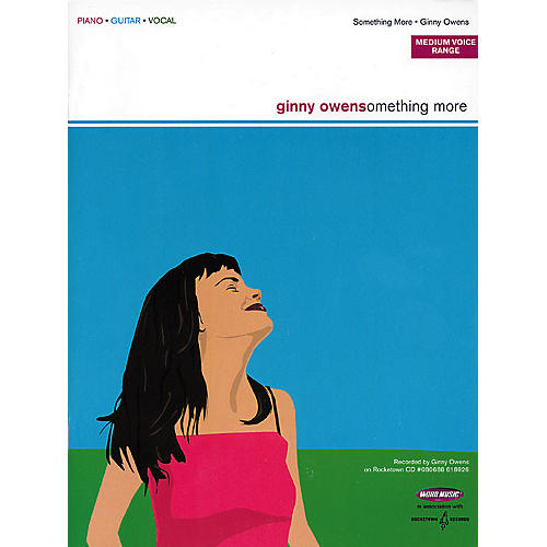 Word Music Ginny Owens - Something More Piano, Vocal, Guitar Songbook