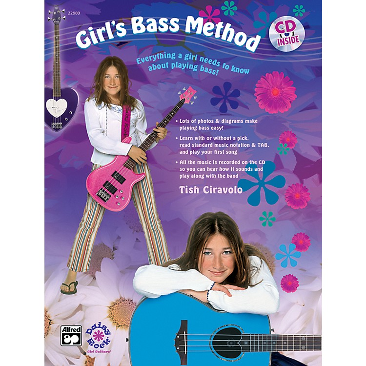 Alfred Girl's Bass Method Book & CD