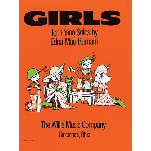 Willis Music Girls (Mid-Elem Level) Willis Series by Edna Mae Burnam-thumbnail