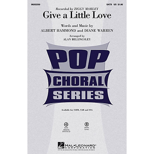 Hal Leonard Give a Little Love ShowTrax CD by Ziggy Marley Arranged by Alan Billingsley