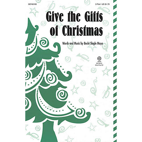 Hal Leonard Give the Gifts of Christmas ShowTrax CD Composed by Becki Slagle Mayo