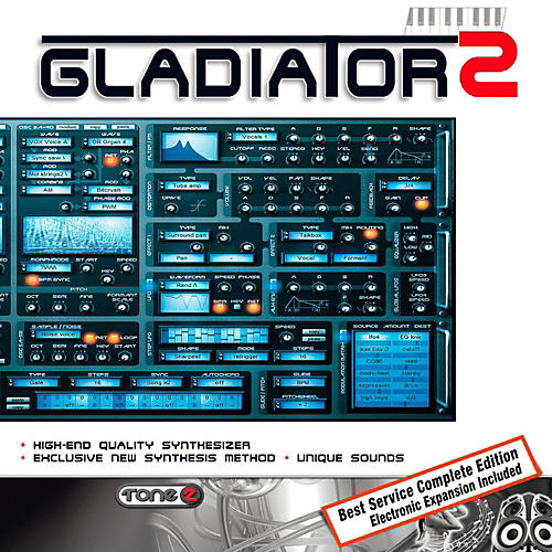 Tone2 Gladiator 2 Expanded Synth