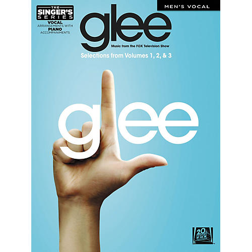 Hal Leonard Glee - Men's Edition - Vols 1-3 The Singer's Series-thumbnail