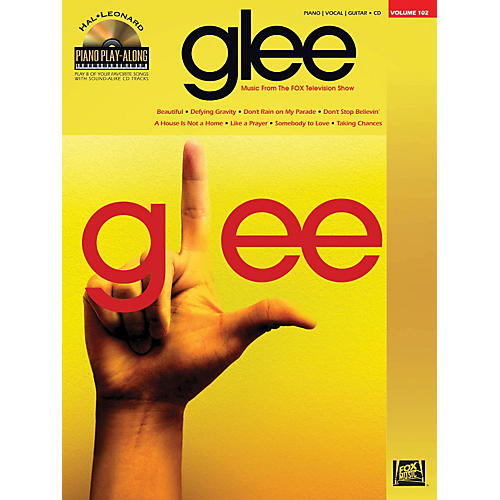 Hal Leonard Glee - Piano Play-Along Volume 102 Book/CD