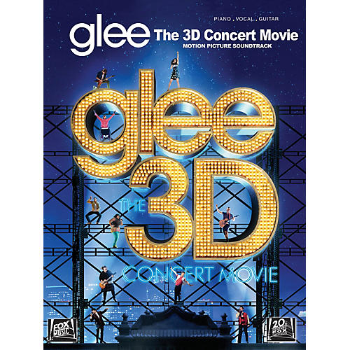 Hal Leonard Glee - The 3D Concert Movie Motion Picture Soundtrack PVG Songbook