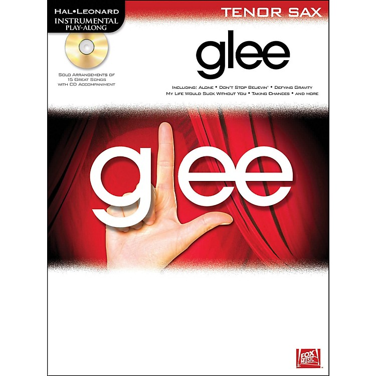 Hal Leonard Glee For Tenor Sax - Instrumental Play-Along (Book/CD)