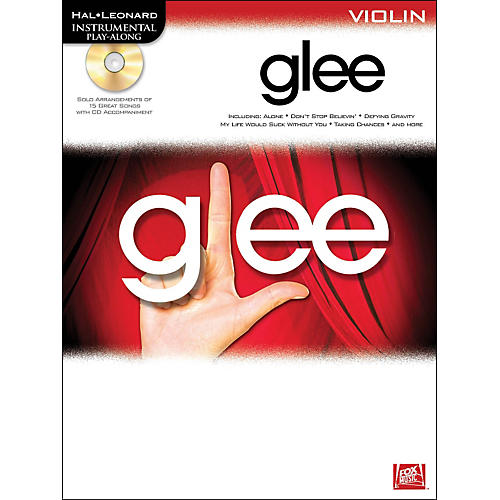 Hal Leonard Glee For Violin - Instrumental Play-Along Book/CD