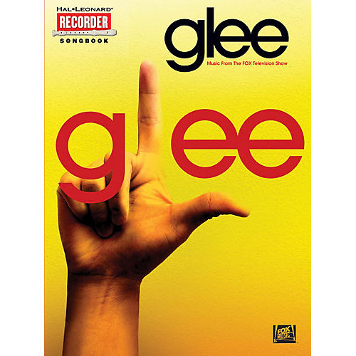 Hal Leonard Glee (Music from the Fox Television Show) Recorder Series Softcover Performed by Various-thumbnail