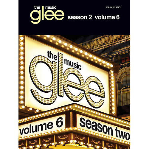 Hal Leonard Glee: The Music - Season 2 Volume 6 For Easy Piano