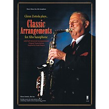 Music Minus One Glenn Zottola Plays Classic Arrangements for Alto Saxophone Music Minus One Book with CD by Glenn Zottola