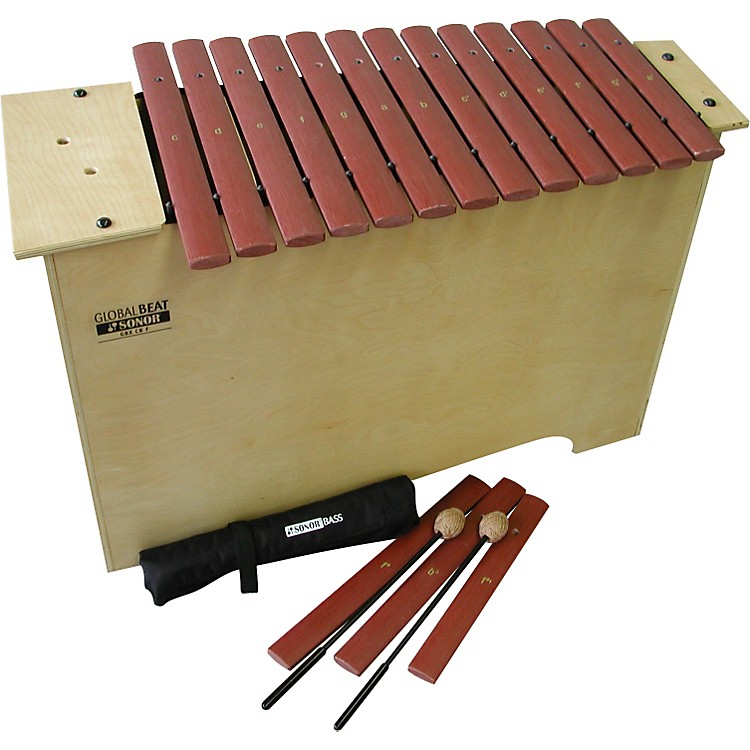 Sonor Global Beat Deep Bass Xylophone with Fiberglass Bars Fiberglass Bars