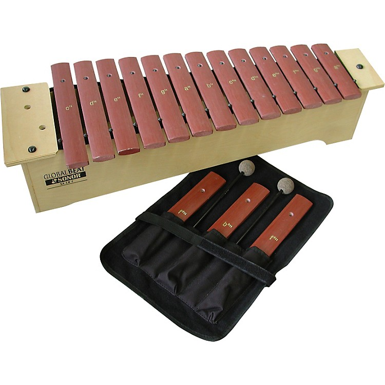Sonor Global Beat Soprano Xylophone with Fiberglass Bars Fiberglass Bars