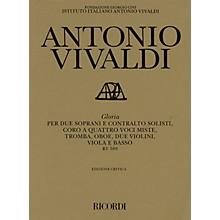 Ricordi Gloria RV589 (Critical Edition Score) Composed by Antonio Vivaldi