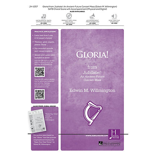 Jubal House Publications Gloria! (from Jubilate) SATB composed by Edwin M. Willmington-thumbnail