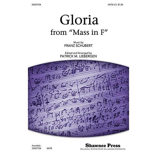 Shawnee Press Gloria (from Mass in F) SATB arranged by Patrick M. Liebergen