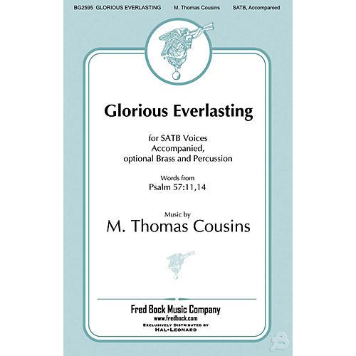Fred Bock Music Glorious Everlasting SATB arranged by Richard A. Nichols-thumbnail
