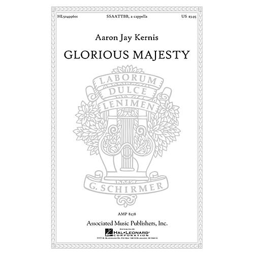 Associated Glorious Majesty SSAATTBB composed by Aaron Jay Kernis-thumbnail