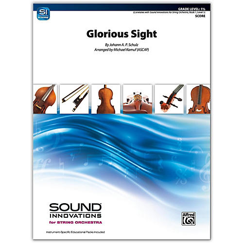 Alfred Glorious Sight Conductor Score 1.5-thumbnail