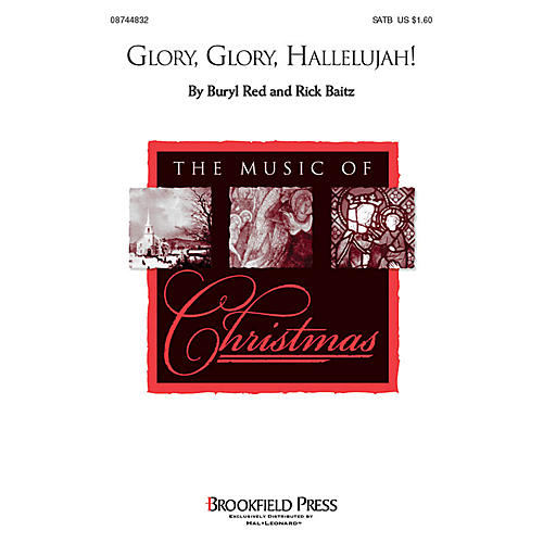 Hal Leonard Glory, Glory Hallelujah! SATB arranged by Buryl Red
