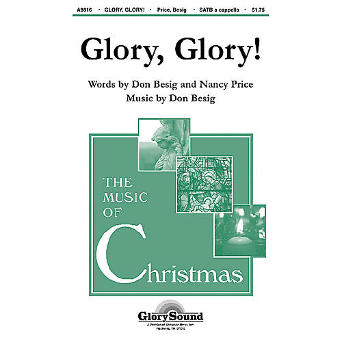 Shawnee Press Glory, Glory! SATB a cappella composed by Don Besig-thumbnail