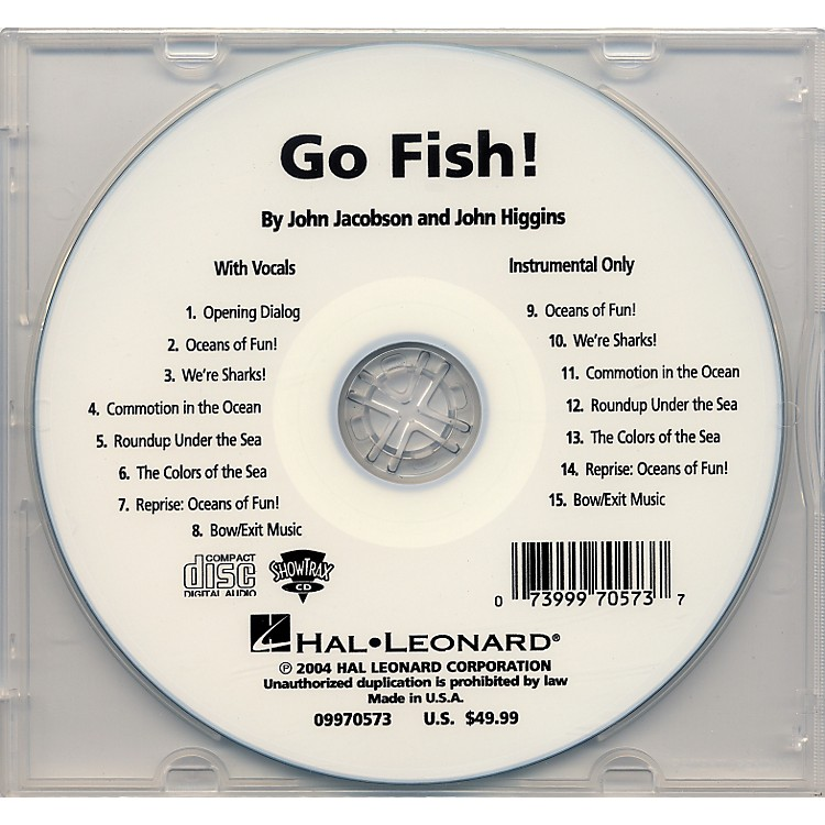 Hal Leonard Go Fish Accomp/Performance Cd