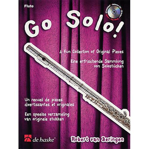 De Haske Music Go Solo (A Fun Collection of Original Pieces) De Haske Play-Along Book Series by Robert van Beringen-thumbnail