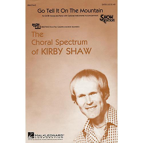 Hal Leonard Go Tell It on the Mountain SATB arranged by Kirby Shaw