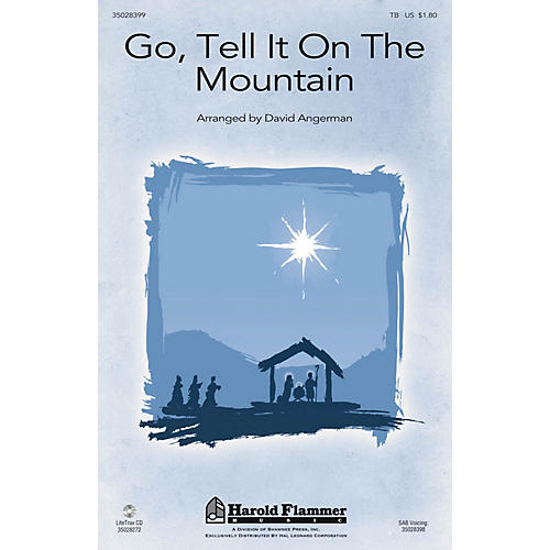 Shawnee Press Go, Tell It on the Mountain TB arranged by David Angerman